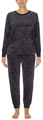 Donna Karan Casual Luxe Sleepwear Top (Aubergine) Women's Pajama
