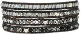 Chan Luu 32' Swarovski Black Mix Crystal Wrap Bracelet