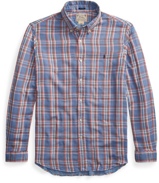 Ralph Lauren Custom Fit Plaid Shirt