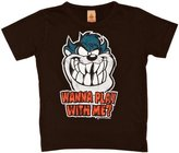 Logoshirt Looney Tunes Wanna Play Logo Boy's T-Shirt