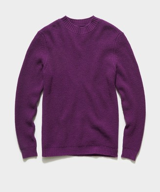 Le Mont St Michel Sisilo Lambswool Sweater in Violet