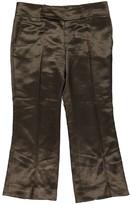 Gucci Khaki Linen Trousers