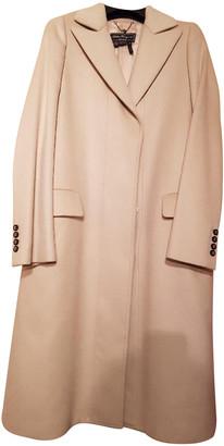 Salvatore Ferragamo Pink Cashmere Coats