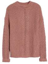 Lucky Brand Women's Open Stitch Sweater