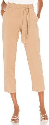 1 STATE Tie Waisted Tapered Pant