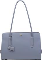 Radley Liverpool Street Leather Medium Tote Bag, Dusky Blue