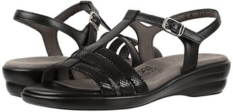 SAS Capri (Black Snake) Women's Shoes