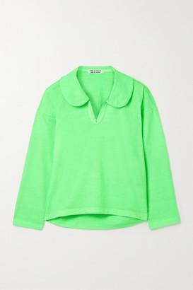 Comme des Garçons Comme des Garçons Cotton-jersey Top - Green