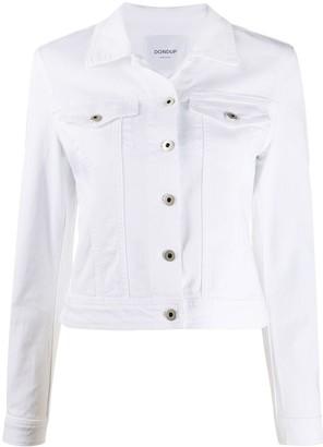 Dondup Slim Fit Cropped Jacket