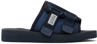 Suicoke Navy Kaw-Cab Sandals