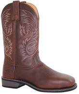"AdTec Men's 9555 11"" Western Square Steel Toe Work Boot"