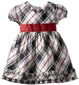 Hartstrings Girls 2-6X Toddler Shantung Family Plaid Dress