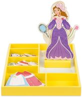 Melissa & Doug Disney Princess Belle Wooden Magnetic Dress-Up Doll by