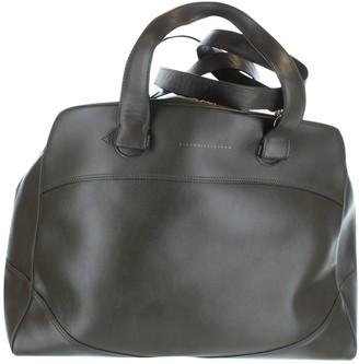 Victoria Beckham Khaki Leather Handbags