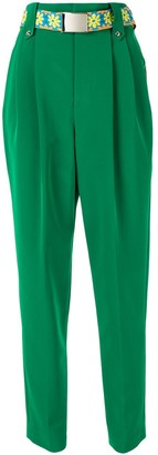 Kolor High Waist Tapered Trousers
