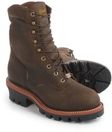 """Chippewa Super Logger 9"""" Leather Work Boots - Steel Safety Toe, Waterproof, Insulated (For Men)"""