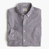 J.Crew Slim Secret Wash shirt in tattersall