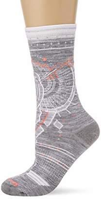 Smartwool Women's Mountain Magpie Crew Socks,Small