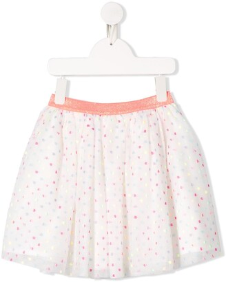 Billieblush Dotted Tulle Skirt