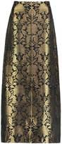 Sania Studio - Gold Brocade Long Skirt