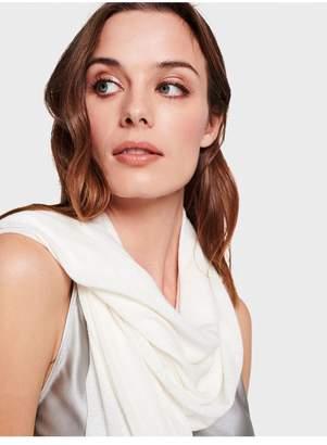 White + Warren Mini Linen Travel Wrap