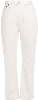 Acne Studios High-rise Straight-leg Jeans