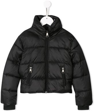 Karl Lagerfeld Paris Cropped Padded Jacket