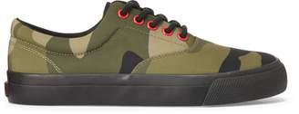 Ralph Lauren Bryn Canvas Camo Sneaker