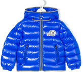 Moncler classic padded jacket - kids - Feather Down/Polyamide - 4 yrs