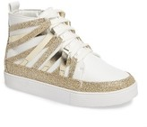 Stuart Weitzman Girl's Vance Strappy High Top Sneaker