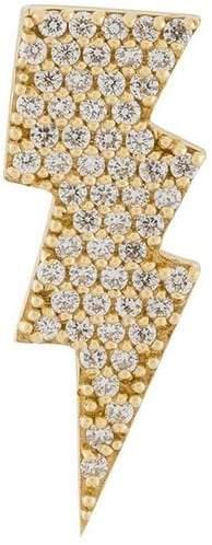 Anton Heunis gold and diamond lightning bolt earring