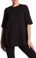 Gracia Asymmetrical Slit Tee