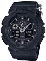 G-Shock G Shock Duo Blk Out Series 200m W/R,W/Time