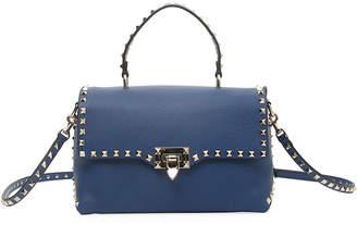 Valentino Garavani Rockstud Vitello Stampa Shoulder Bag