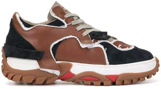 Kolor colour block sneakers