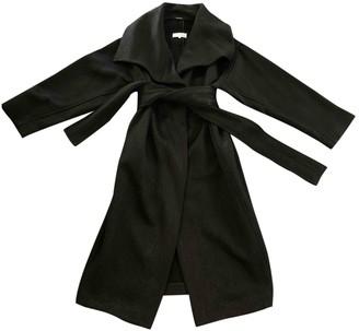 Maison Margiela Black Wool Coat for Women