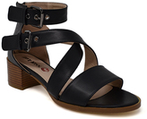 Hot Kiss Black Georgina Sandal