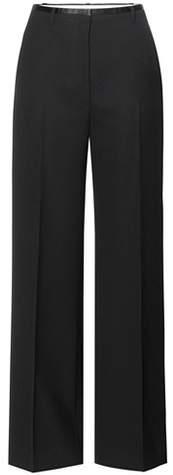 Acne Studios Wool wide-leg trousers