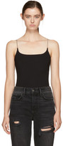 Alexander Wang Black Chain Camisole