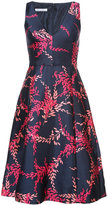 Oscar de la Renta sleeveless dress with print