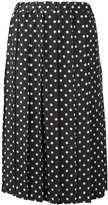 Comme des Garcons polka dot full skirt - women - Cupro - XS