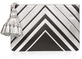 Anya Hindmarch Georgiana Diamonds Large leather clutch
