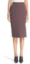 Altuzarra Women's Plaid Pencil Skirt