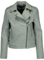 Muu Baa Muubaa Bubble Healey Leather Biker Jacket