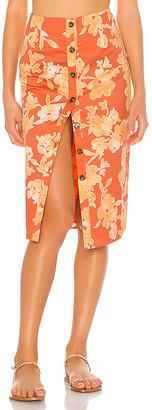 Privacy Please Augusta Midi Skirt