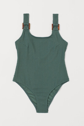 H&M Ribbed Swimsuit