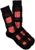 1901 Blocks Cushioned Sole Over-the-Calf Socks