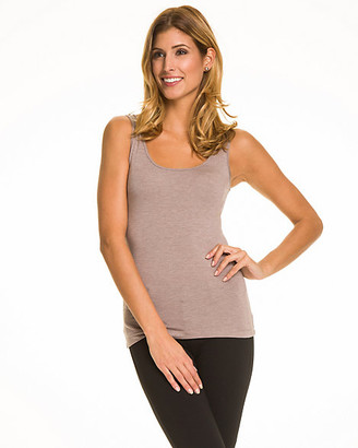 Le Château Essential Knit Scoop Neck Tank Top