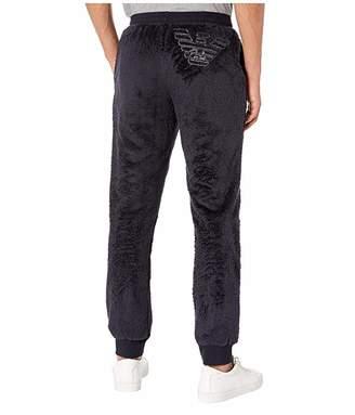 Emporio Armani Fuzzy Fleece Trousers