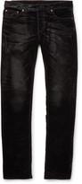 Balenciaga - Slim-fit Velvet Jeans